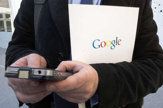 A l'inauguration de l'Institut culturel de Google à Paris, en 2013.