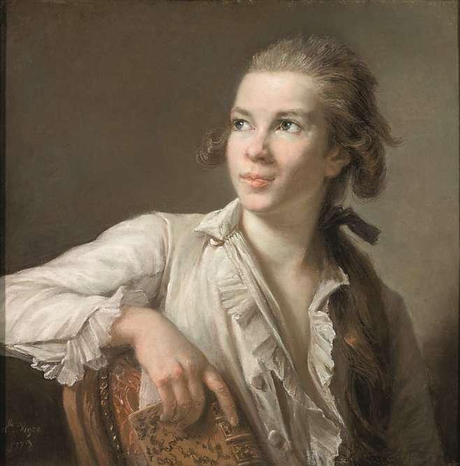 Vigée-Lebrun fut une des plus célèbres portraitiste de son temps, et probablement un des artistes les plus chers parmi ses contemporains: marchand de tableaux, son mari fixait des prix élevés pour les oeuvres de sa femme. Souvent ruinée, elle sut toujours, par son art, reconstituer sa fortune.