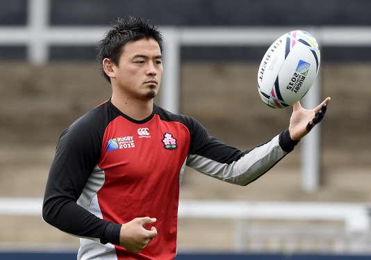 Ayumu Goromaru lors d'un entraînement, le 22 septembre 2015.