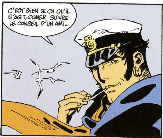 """""""Corto Maltese. Sous le soleil de minuit"""", de Ruben Pellejero et Juan Díaz Canales."""