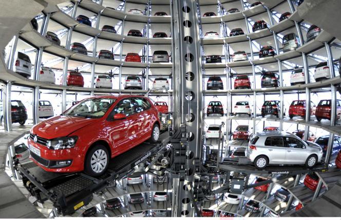 Une usine Wolfsburg en Allemagne en 2010.