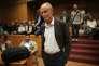 Erri De Luca au tribunal de Turin, le 21 septembre.