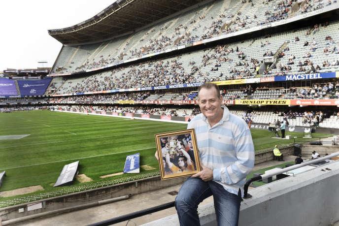 David Campese au Kings Park Stadium de Durban, en Afrique du Sud, le 5 septembre.