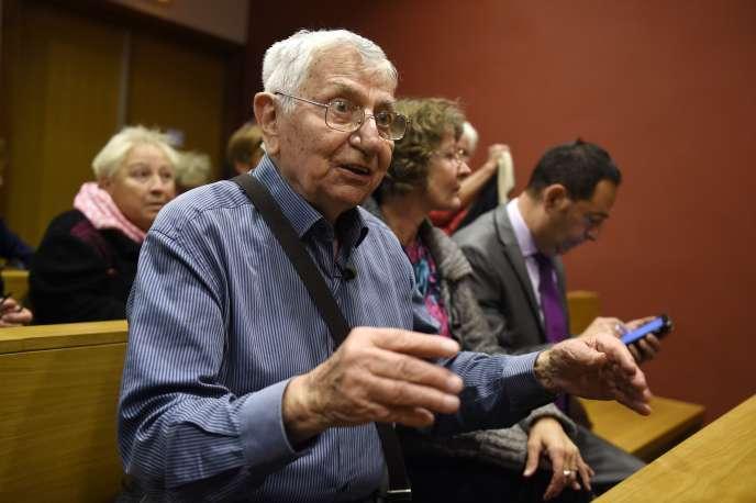 Jean Mercier, au tribunal de Saint-Etienne, le 22septembre.