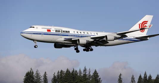 C'est à bord d'un Boeing 747-400 que le président chinois, Xi Jinping, est arrivé à Seattle, aux Etats-Unis, le 22 septembre.