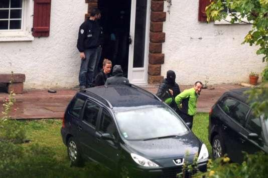 David Pla, 40 ans, l'un des dirigeants présumés du groupe séparatiste basque ETA, a été arrêté le 22 septembre, à Saint-Étienne-de-Baïgorry (Pyrénées-Atlantiques).