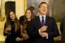David Cameron lors d'une réception au 10, Downing Street à Londres le 21 septembre 2015.