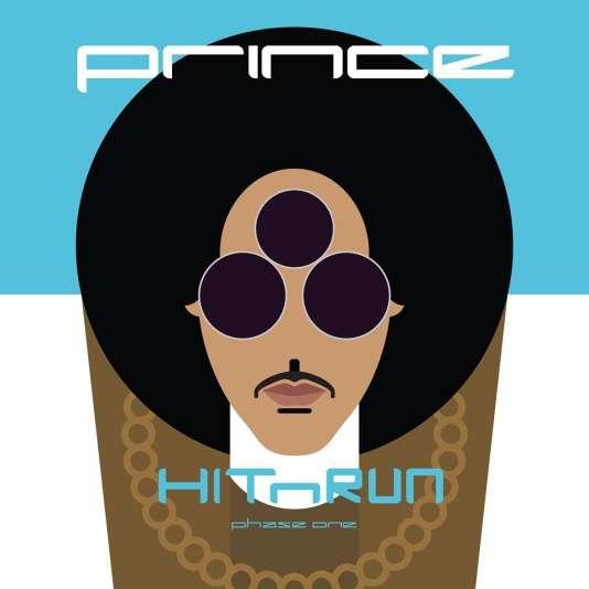 Pochette de l'album « HITnRUN – phase one », de Prince.