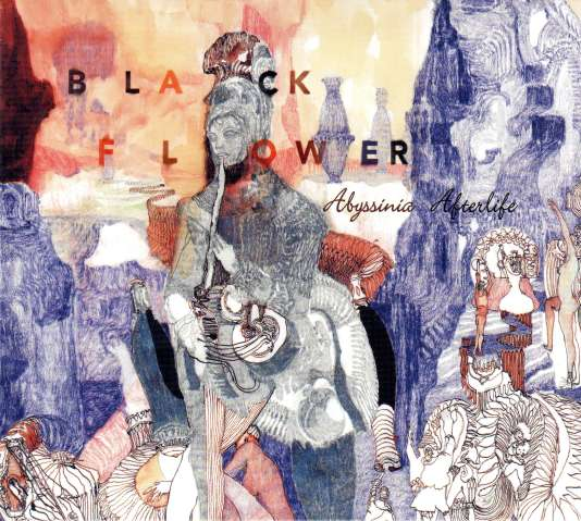 Pochette de l'album « Abyssinia Afterlife », de Black Flower.