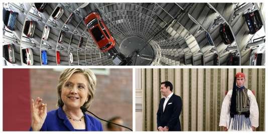 VW, Keyston, Tsipras : l'essentiel du 23 septembre à 8 heures.