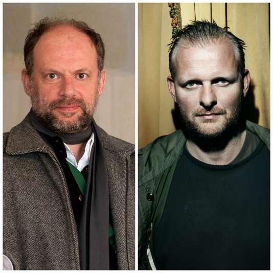 Denis Podalydès à gauche.  Thomas Ostermeier à droite.