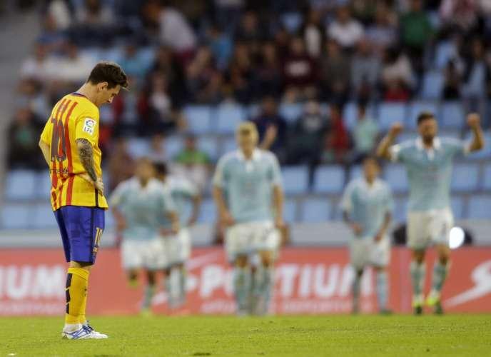 Le FC Barcelone a lourdement chuté (4-1) face au Celta Vigo.