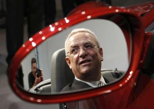 Martin Winterkorn en mars 2011, alors PDG de Volkswagen.