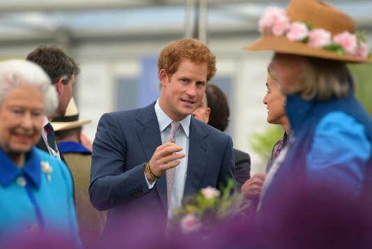 Le prince Harry, le 18 mai.
