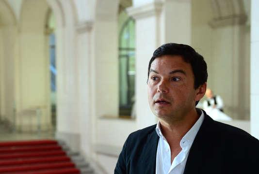 Thomas Piketty a ouvert le cycle de conférences du Monde Festival, samedi 26septembre.