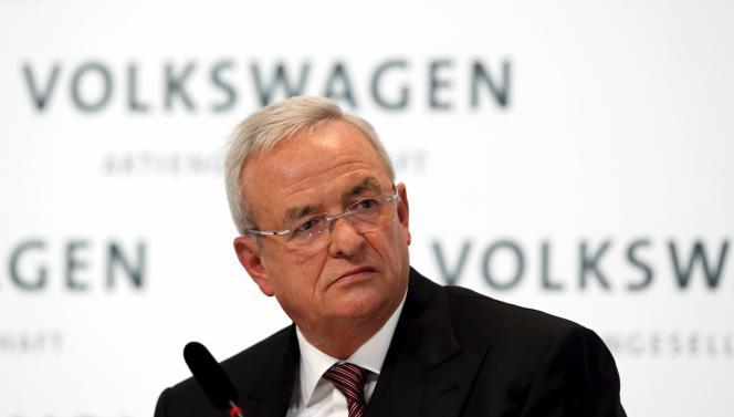 Martin Winterkorn, ex-président du directoire de VW.