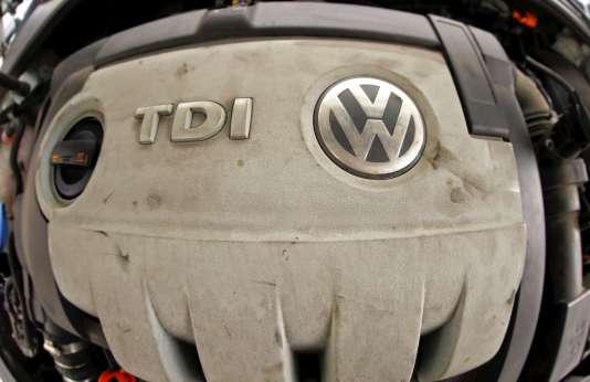Moteur diesel de Volkswagen.
