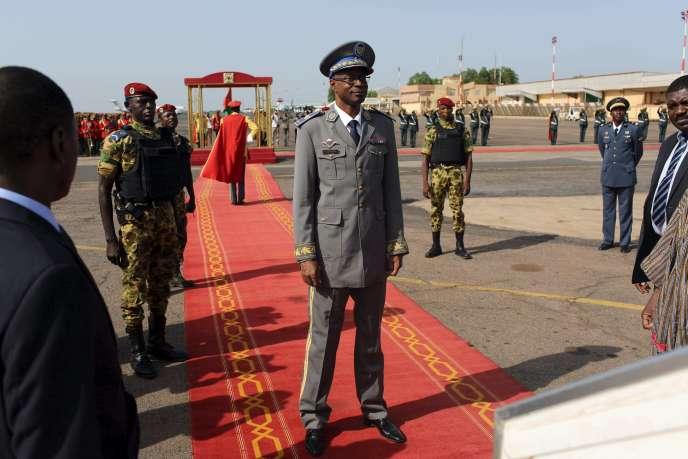 Le général Gilbert Diendéré, le 23 septembre à Ouagadougou.