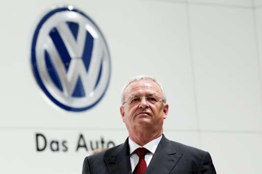 L'ancien patron de Volkwagen Martin Winterkorn en avril.