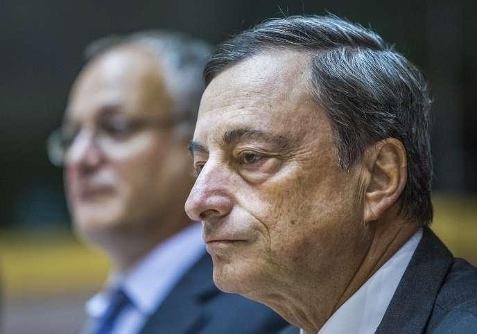 Mario Draghi, le 23 septembre 2015.