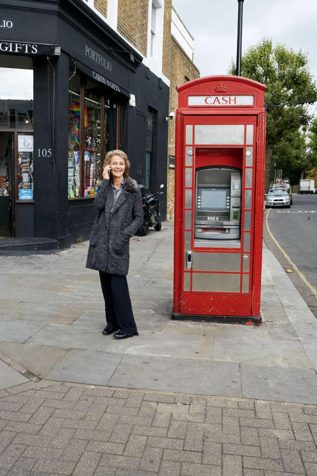 Charlotte Rampling en septembre 2015 à Londres