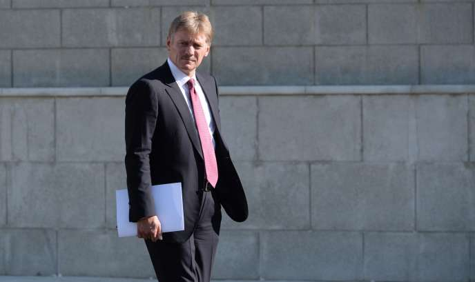 Le porte-parole du Kremlin, Dmitri Peskov, en septembre 2015.