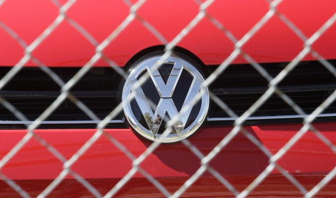 Un capot Volkswagen.