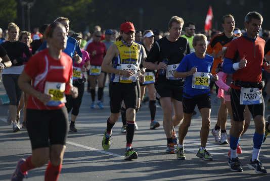 Marathon de Berlin en 2014.