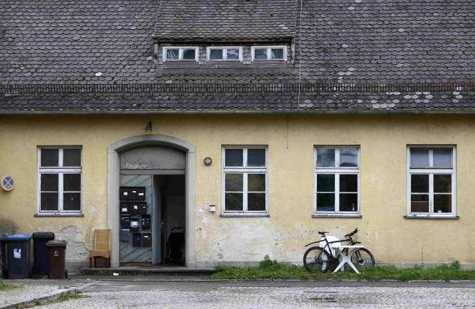 L'ancien annexe du camp de concentration nazi de Dachau, qui accueille désormais des réfugiés et des SDF, le 23 septembre.
