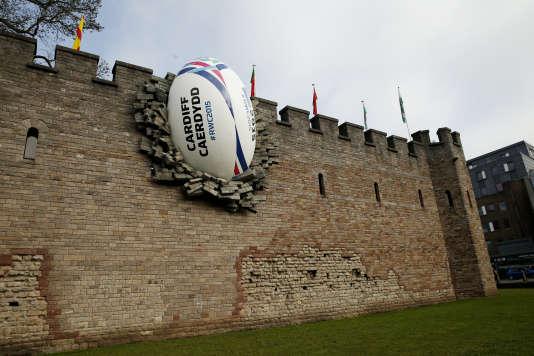 Le mur d'enceinte du château de Cardiff le 19 septembre 2015.
