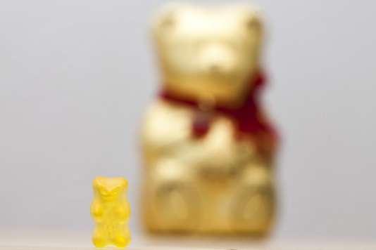 «L'ours» de Lindt n'est pas une imitation illicite de «L'ours d'or» de Haribo, estime la Cour fédérale de justice.