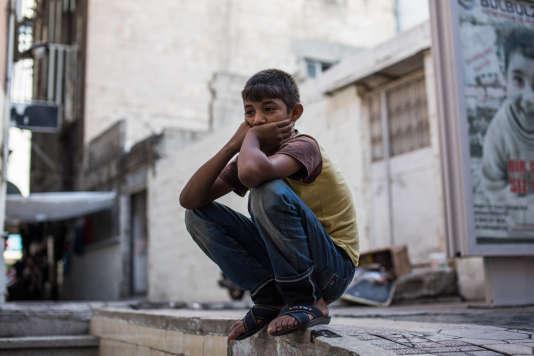 Un jeune garçon syrien dans la ville de Gaziantep.