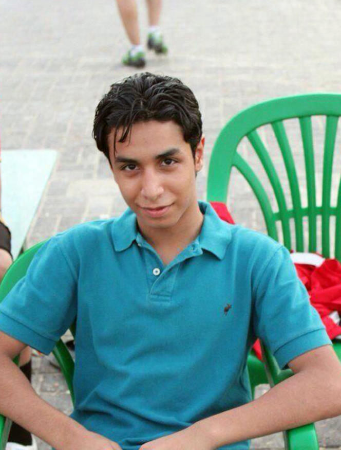 Photo non-daté d'Ali Al-Nimr, condamné à mort par les autorités saoudiennes.