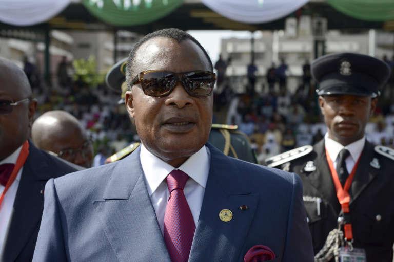 Le président congolais Denis Sassou Nguesso, 72 ans, cumule trente années au pouvoir.