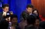 Le président chinois, Xi Jinping, en compagnie  du PDG de Ford, Mark Fields,  à Seattle, le22 septembre.