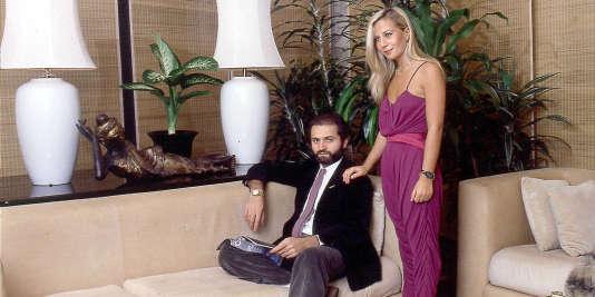 Gianni et Donatella Versace, en 1985.