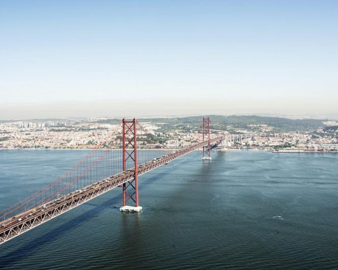 Lisbonne vue depuis le Cristo-Rei.