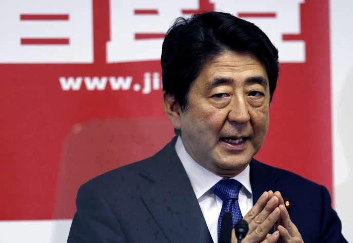 Le premier ministre japonais, Shinzo Abe, le 24 septembre à Tokyo.