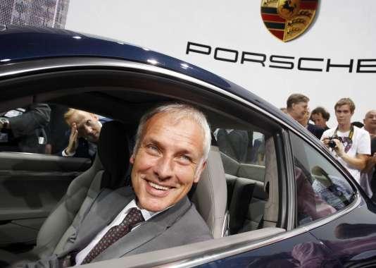 Le patron de Porsche Matthias Muller est présenté comme le favori pour prendre les commandes du groupe Volkswagen.