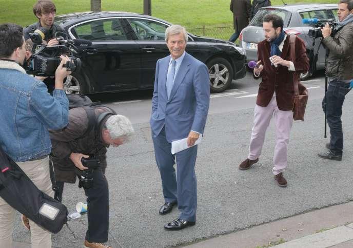 Vincent Bolloré, patron de Canal+ et premier actionnaire de Vivendi.