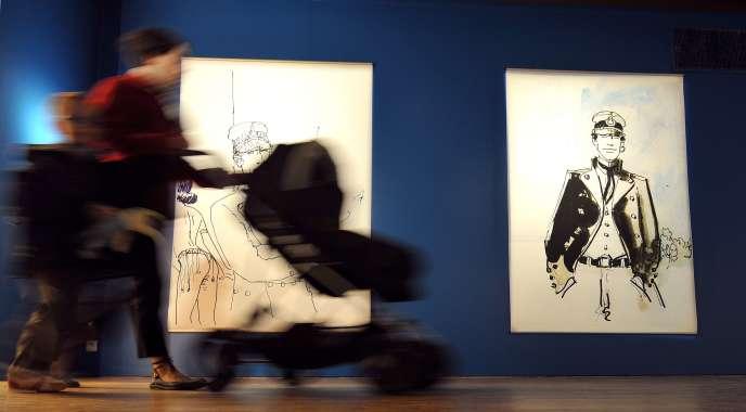 e92157a6c4a Photo prise le 8 avril 2009 lors de l exposition « Voyages secrets »