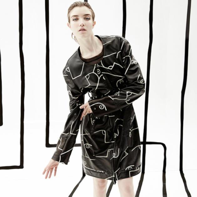 """Un """"InstaShoot"""" réalisé pour Calvin Klein."""