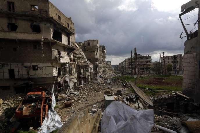 Ville d'Alep, ancien poumon économique de la Syrie.