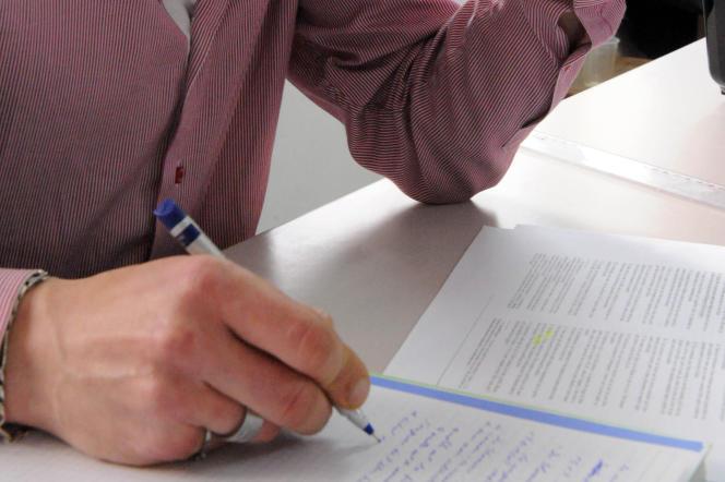 Ne pas faire de fautes d'orthographe facilite la recherche d'emploi. AFP PHOTO / FADEL SENNA