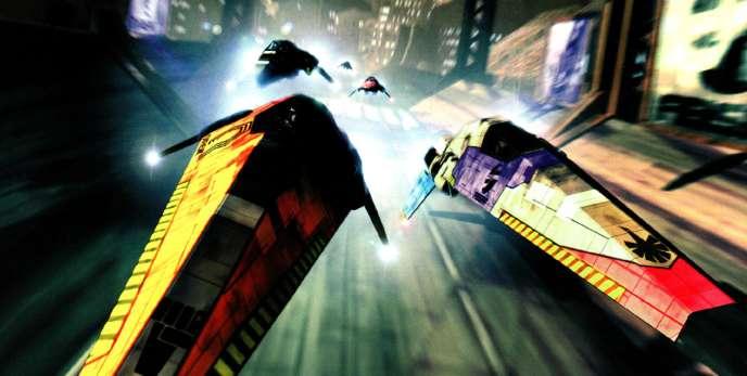 « WipEout », en 1995, est l'un des titres emblématiques d'une nouvelle génération de jeux vidéo, adultes, multimédia et immersifs.