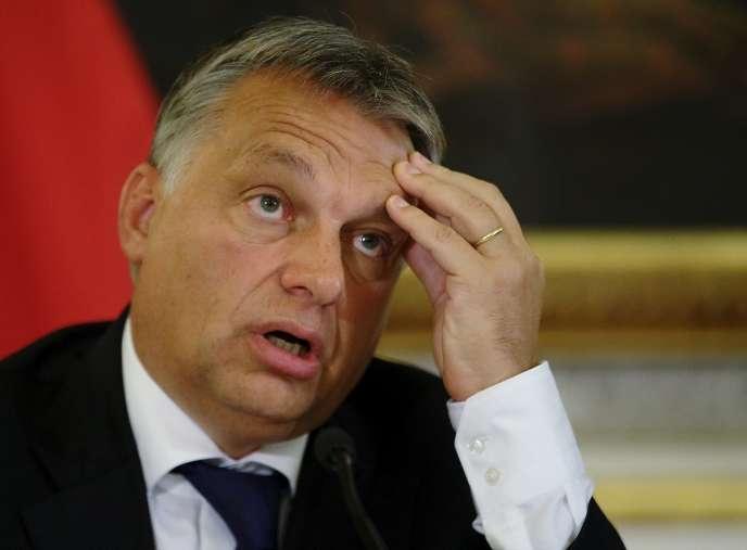 Le premier ministre hongrois Viktor Orban, le 25 septembre à Vienne (Autriche).