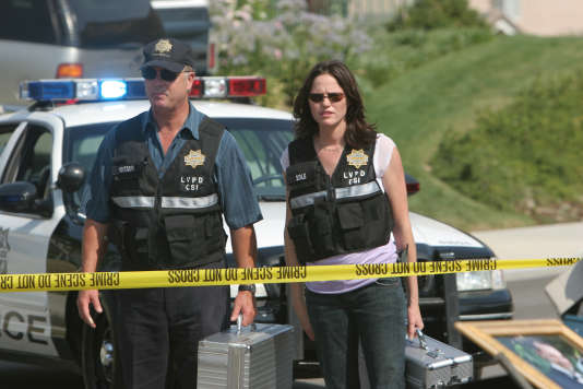 Les experts (saison 7 ) avec William Petersen et Jorja Fox (2006).