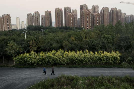 L'écocité  de Tianjin n'accueille  pour l'heure  que 30000 habitants  sur les 200000 escomptés.