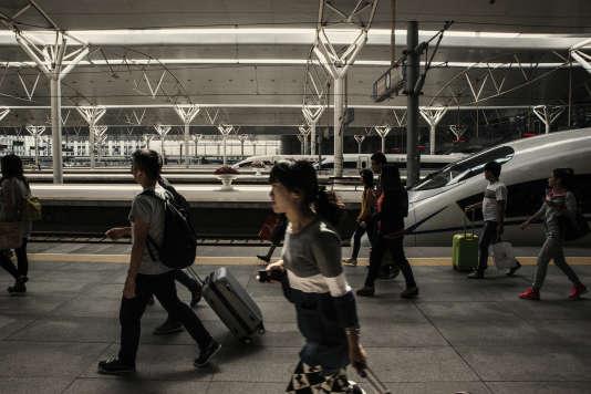Tianjin devrait être reliée  à la capitale chinoise grâce  à la création  de nouvelles lignes à grande vitesse.
