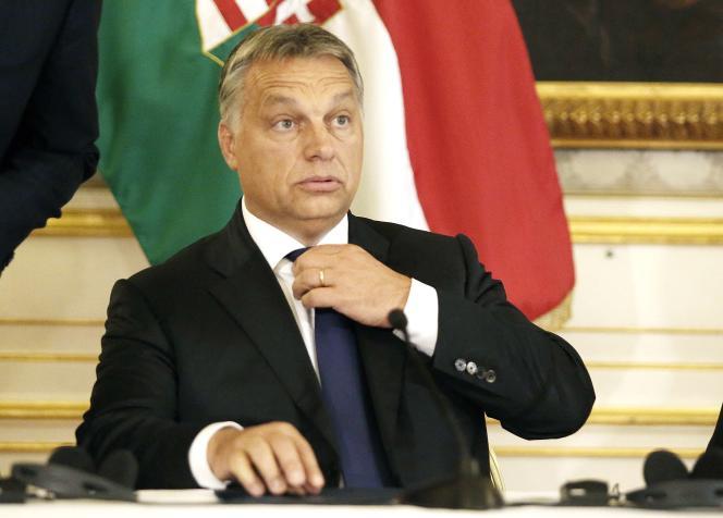 Viktor Orban, le 25 septembre à Vienne.
